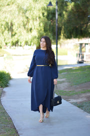 New Paris Navy Maxi Dress (perfect bridal party dress)
