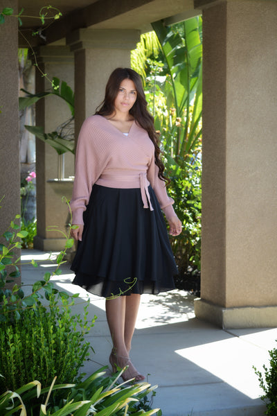 Veronica Black Skirt