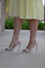 Connie Nude Sandal Heel