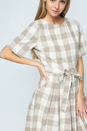 Adeline Buffalo Plaid Dress