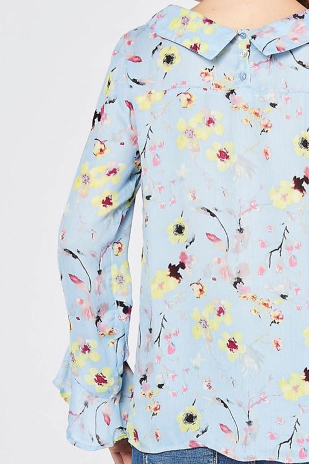 Calliope Floral Top