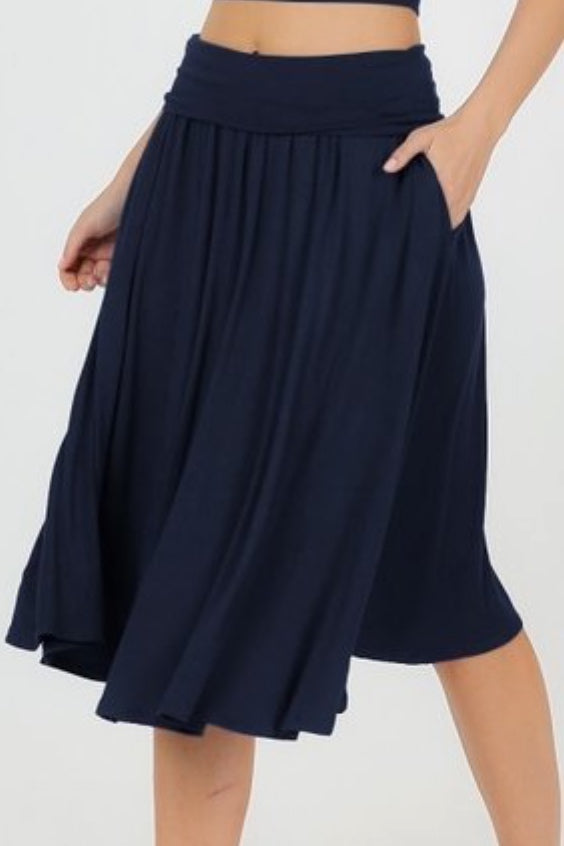 Shelly Blue Skirt