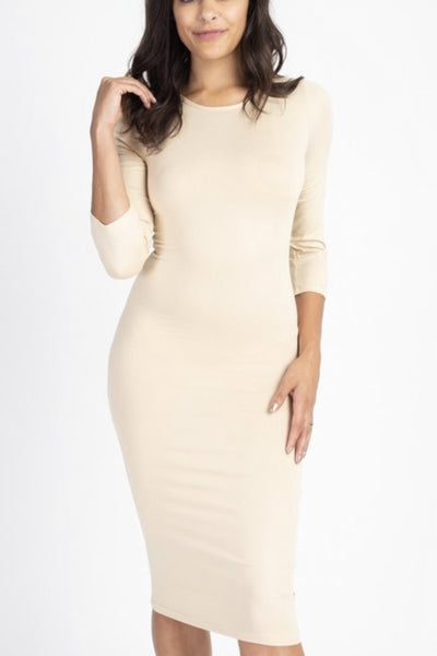 Katy Tan Layering Dress