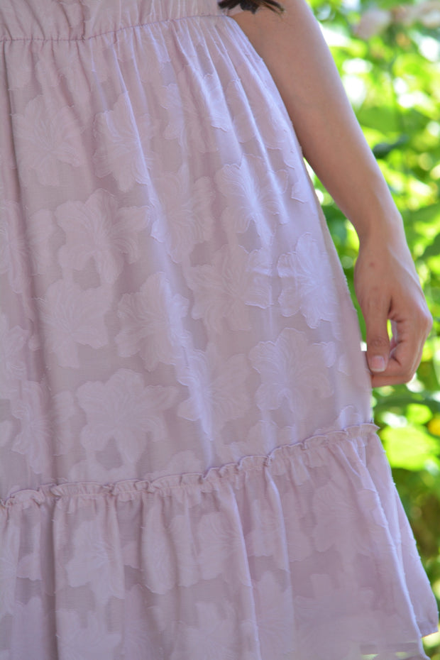 Ella Pink Ruffled Dress