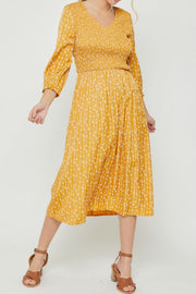 Darlene Embroidered Dress