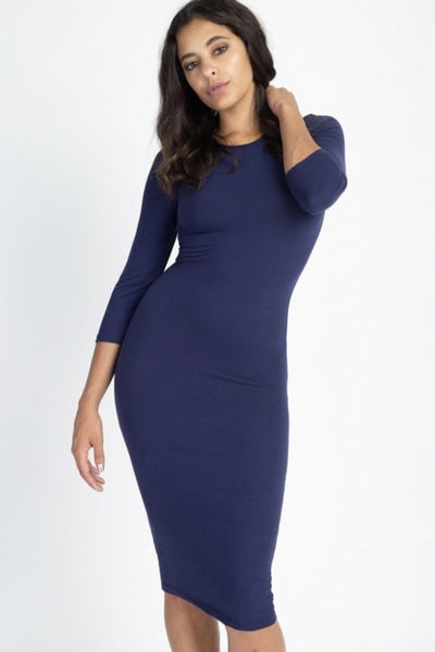 Katy Navy Layering Dress