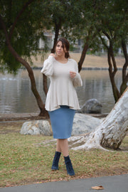Amanda Peplum Top