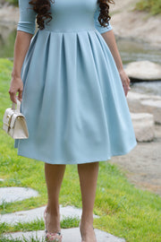 Venice Arctic Blue Dress