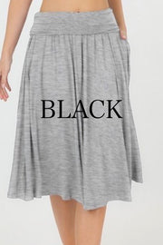 Shelly Black Skirt