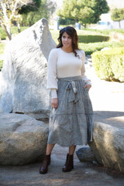 Zola Fall Tiered Skirt