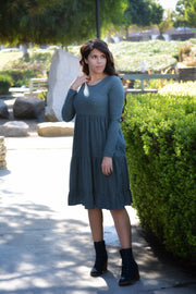 Stella Swissdot Sage Green Dress