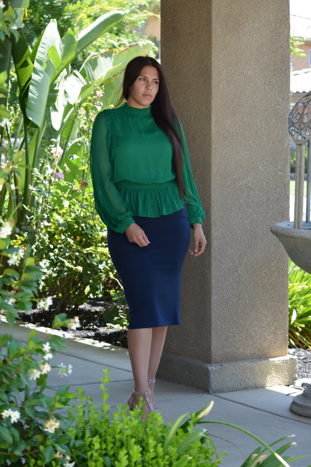 Azalea Emerald Green Top