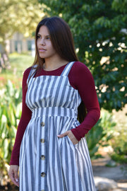 Brianna Striped Jumper