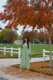 Paris Mint Maxi Dress