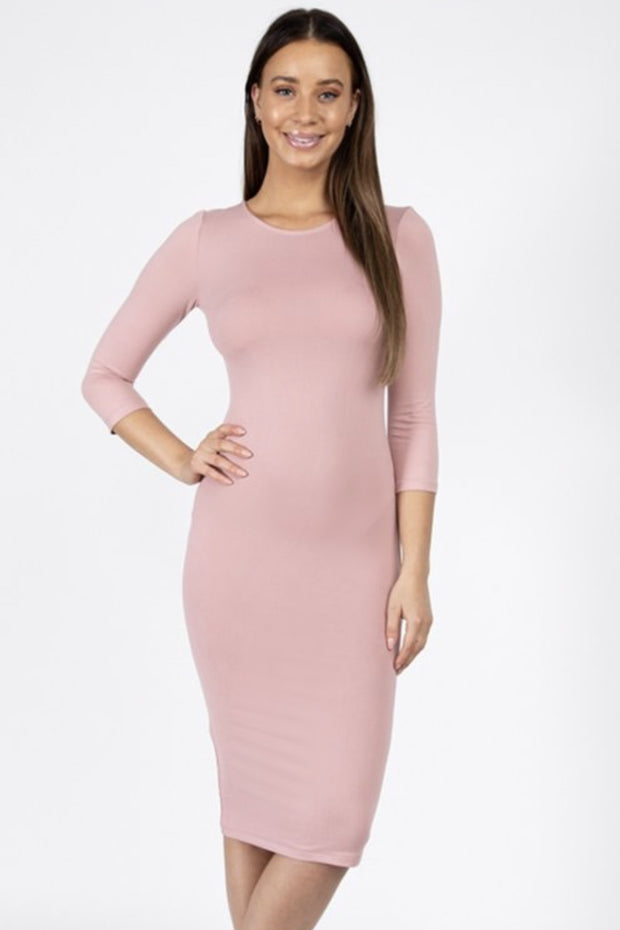 Katy Pink Layering Dress