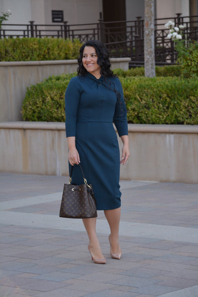 Pamplona Green Knot Dress