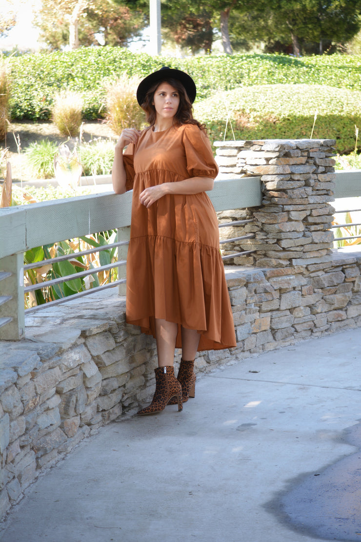 Wren Rust Dress