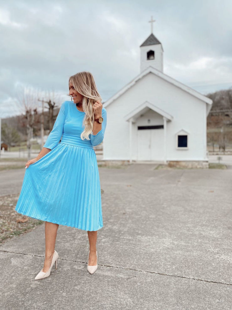 Marseille Sky Blue Dress