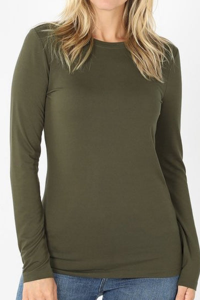 Mary Olive Green Tee