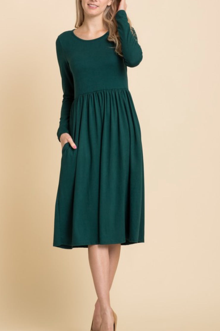 Karly Emerald Green Dress