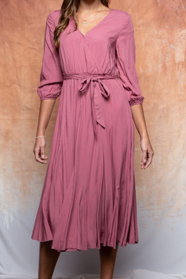 Esther Mauve Dress