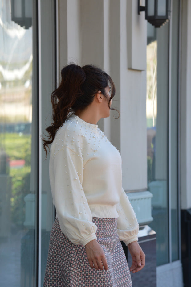 Zuri Pearl Sweater