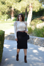Little Black Skirt (Modest of course)