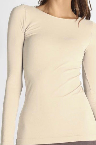 Chelsea Tan Seamless Top