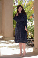 Karina Navy Dress