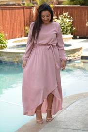 Paris Rose Maxi Dress