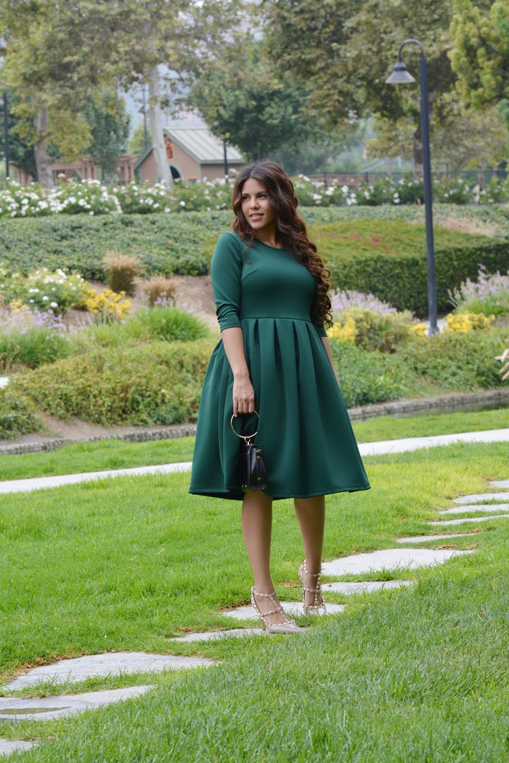 Venice Emerald Green Dress