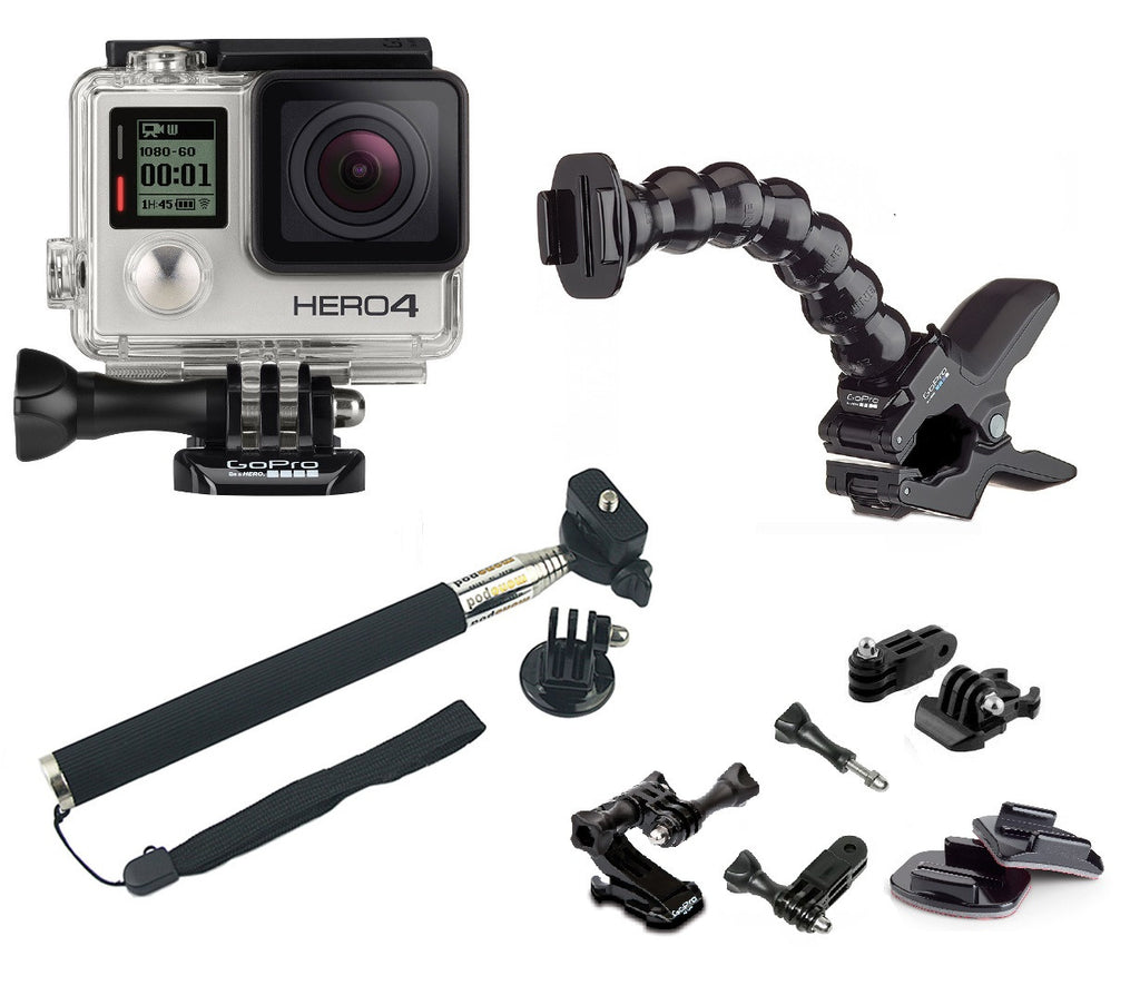 GoPro Hero 4 Silver - Clips Bundle