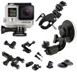GoPro Hero 4 Silver - Mounts Bundle
