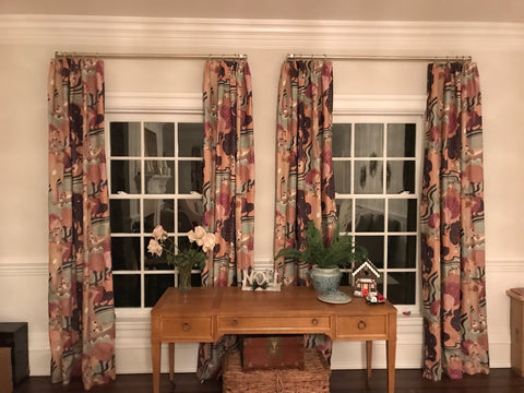 Pearl River Curtains, Fabric By Schumacher