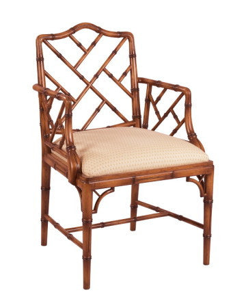 Arm Chair & Side Chair, Bamboo style
