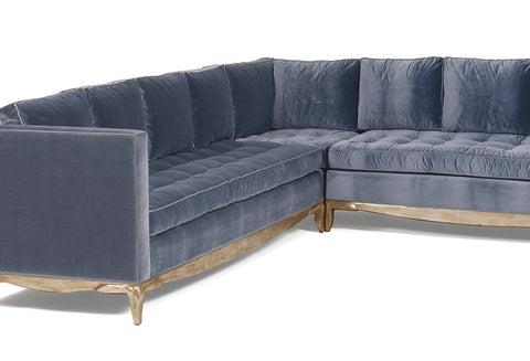 Delmonaco Sectional Sectional Sofa by Nancy Corzine