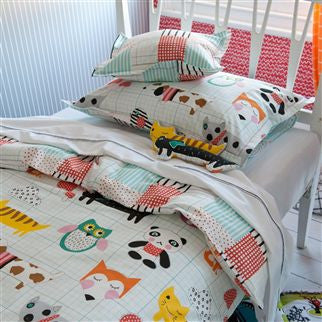 My Best Friend Fabric for Kids, Curtains & Bedding