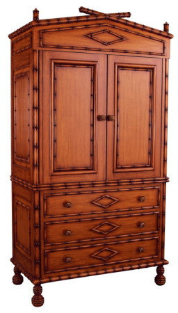 Bamboo-style Armoire