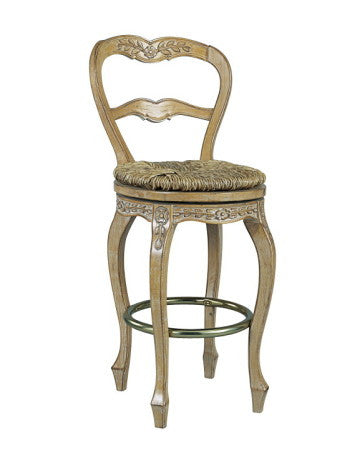 French Ladderback Bar Stool