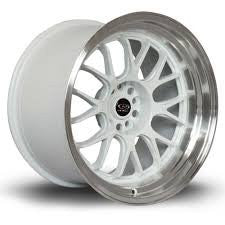 Rota Wheels MXR-R 1895 5x100 38 73 White with Polish Lip