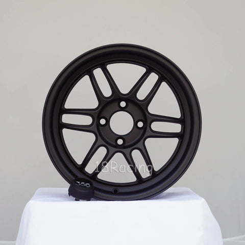 356 Wheels TFS-301 1570 4X100 35 67.1 Flat Black