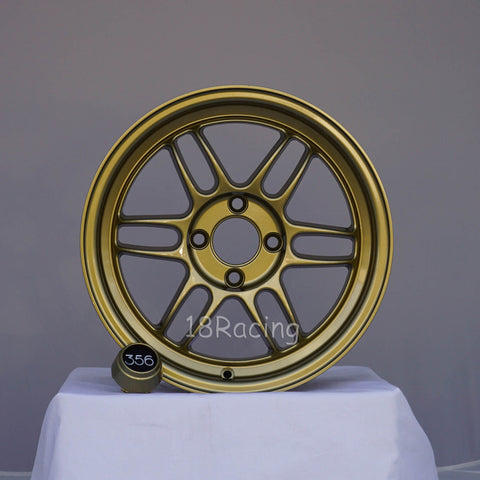 356 Wheels TFS-301 1570 4X100 35 67.1 Gold