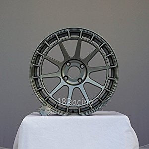 Rota Wheels Recce 1780 4x100 20 67.1  STEEL GREY