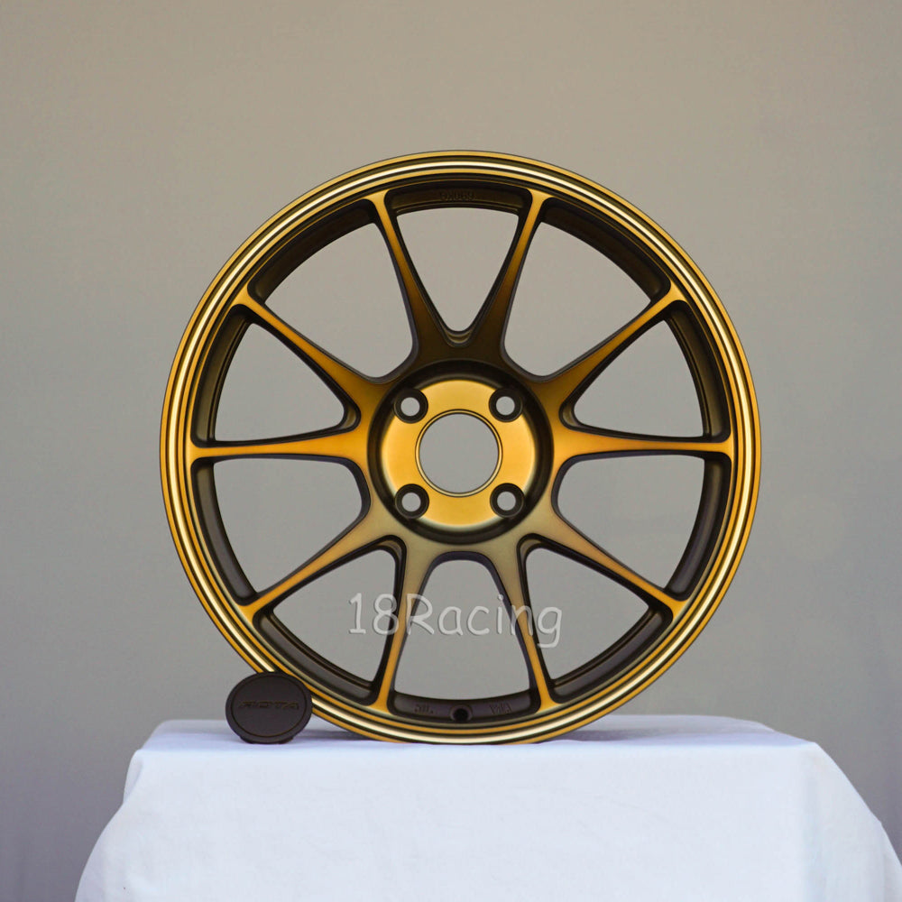 Rota Wheels Titan 1780 4x108 40 73 Full Royal Sport Bronze
