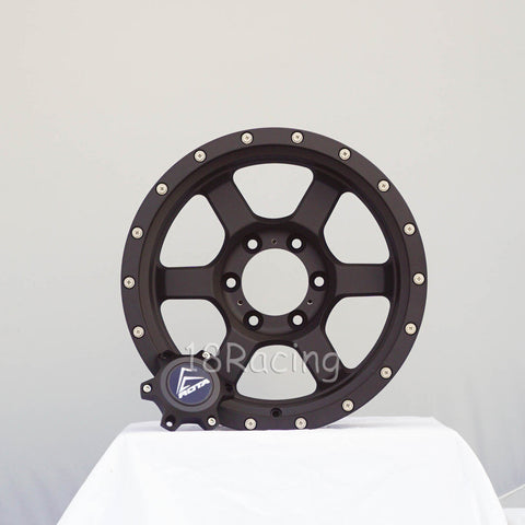 Rota Wheels  Atlas 17x8.5  6X139.7 04 106.1 Flat Black
