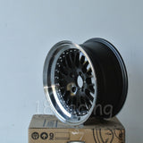 Rota Wheels Flush 1570 4X100 10 67.1 Gunmetal with Polish Lip