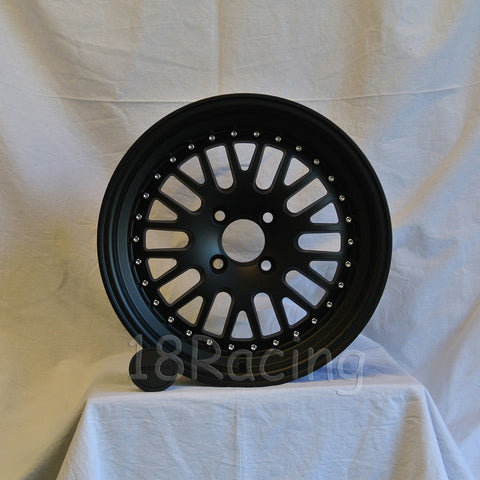 Rota Wheels Flush 1580 4X100 20 67.1 Flat Black