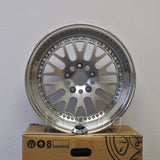 Rota Wheels Flush 1790 5X100 42 73 Full Polish Silver