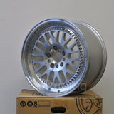 Rota Wheels Flush 1790 5X114.3 42 73 Full Polish Silver