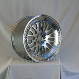 Rota Wheels Flush 1895 5X114.3 30 73 Full Polish Silver